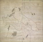 Map of Leeds, surveyed by John Tuke, 1781