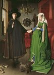 The Arnolfini Marriage Fine Art Print by William Ireland