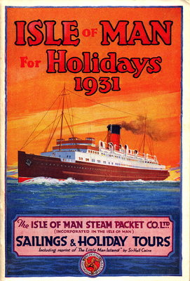 Sailings & Holiday Tours Season 1931 Wall Art & Canvas Prints by Isle of Man Steam Packet Co. Ltd.