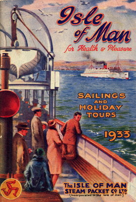 Sailings & Holiday Tours Season 1933 Wall Art & Canvas Prints by Isle of Man Steam Packet Co. Ltd.