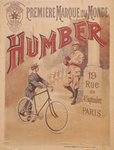 Poster advertising Humber bicycles Fine Art Print by Terrence Nunn