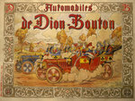 Poster advertising De Dion Bouton cars Fine Art Print by Henri de Toulouse-Lautrec
