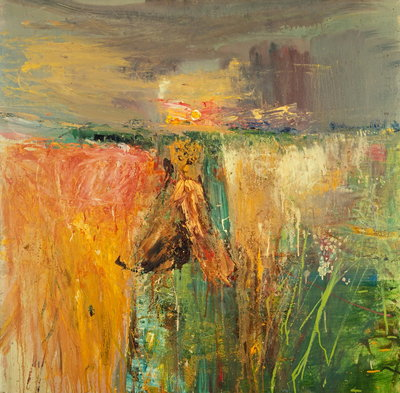Harvest Wall Art & Canvas Prints by Joan Eardley