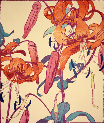 Tiger Lilies Fine Art Print by Mabel Royds