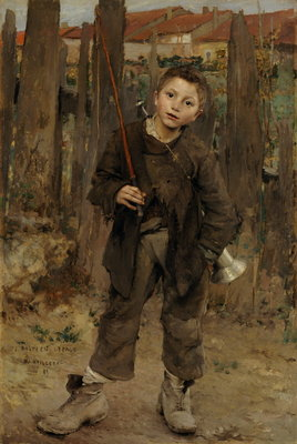 Pas Meche [Nothing Doing] Fine Art Print by Jules Bastien-Lepage