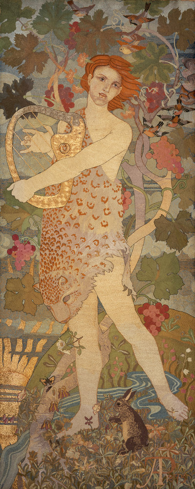 The Progress of a Soul: The Entrance Fine Art Print by Phoebe Anna Traquair