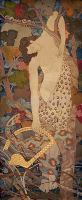 The Progress of a Soul: Despair Poster Art Print by Phoebe Anna Traquair