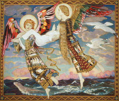 Saint Bride Fine Art Print by John Duncan