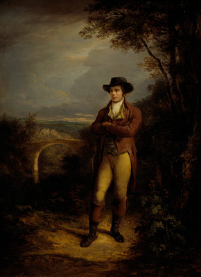 Robert Burns, 1759 - 1796. Poet Fine Art Print by Alexander Nasmyth