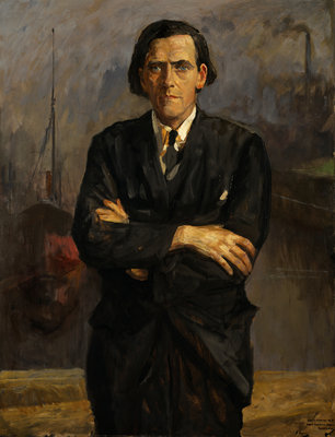 James Maxton, 1885 - 1946. Labour politician Wall Art & Canvas Prints by Sir John Lavery