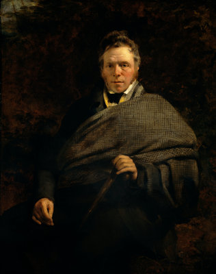 James Hogg, 1770 - 1835. Poet; 'The Ettrick Shepherd' Fine Art Print by Sir John Watson Gordon