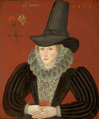 Esther Inglis, 1571 - 1624. Calligrapher and miniaturist by unknown - print