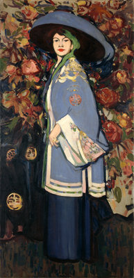 Le Manteau Chinois Fine Art Print by John Duncan Fergusson