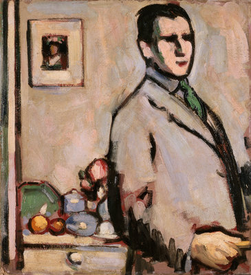 Self-portrait Fine Art Print by John Duncan Fergusson