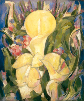 Lillies Fine Art Print by John Duncan Fergusson