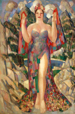 Danu: Mother of the Gods Fine Art Print by John Duncan Fergusson