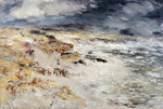 The Storm Poster Art Print by Jules Bastien-Lepage