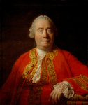 David Hume, 1711 - 1776. Historian and philosopher by Joos van Cleve - print
