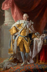 George III, 1738 - 1820. Reigned 1760 - 1820 by unknown - print