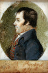 Robert Burns, 1759 - 1796. Poet Fine Art Print by Count Girolamo Nerli
