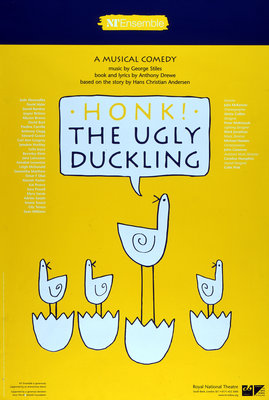 Honk! The Ugly Duckling - print