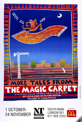More Tales from the Magic Carpet - print
