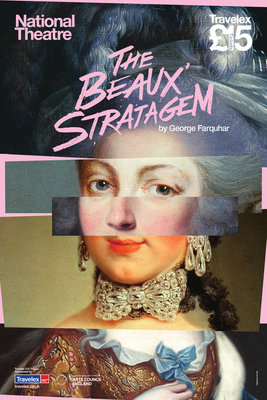 The Beaux Stratagem Wall Art & Canvas Prints by National Theatre Graphics Design Studio