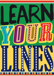 Learn Your Lines - print