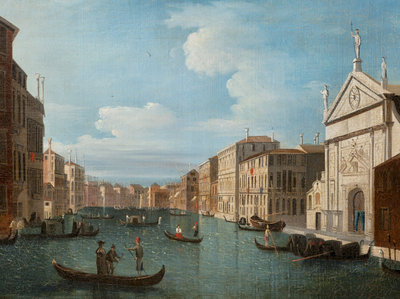 Grand Canal, Venice by Italian School - print