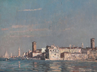 Venice from the Lagoon by Emma Ciardi - print