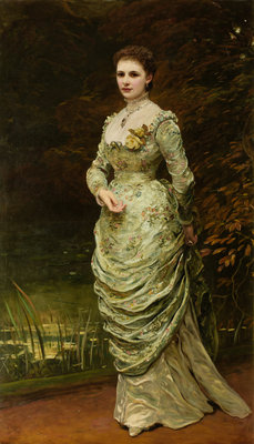 Ishbel, Countess of Aberdeen 1879 Wall Art & Canvas Prints by George Sant
