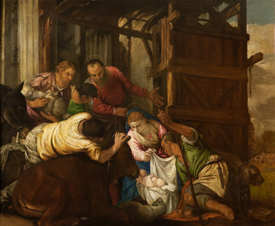 The Adoration of the Shepherds Wall Art & Canvas Prints by Paolo Veronese