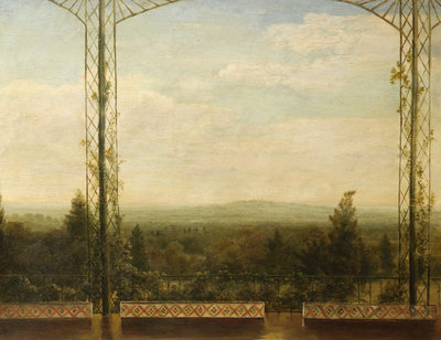 View from St Leonard's Park 1843 Wall Art & Canvas Prints by George Haddo