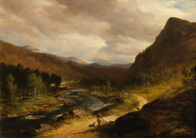 On Deeside Wall Art & Canvas Prints by James William Giles