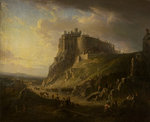 View of Edinburgh Castle by Alexander Nasmyth - print