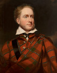 Earl of Caithness, half length, in highland dress by Abraham Bloemaert - print