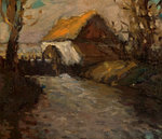 Water Mill by Sir George Reid - print