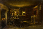 Burns Cottage, Interior by David Octavius Hill - print