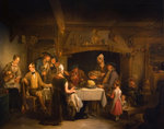 The Haggis Feast, c.1840 Wall Art & Canvas Prints by William Henry Hunt