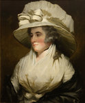 Sire Henry Raeburn Sarah, his wife, daughter of John, 13th Lord Sempill, 1788 by Sir Henry Raeburn - print