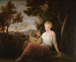 Woman with a Lyre by Gavin Hamilton - print