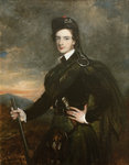 Francis Garden, Lord Gardenstone, 5th of Troup, in his Kilt and Plaid (1721-1793) by Tilly Kettle Kettle - print