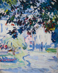 Luxembourg Gardens by Harrington Mann - print