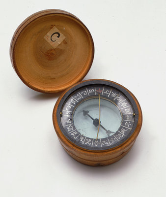 Fisherman's compass - Chinese - Royal Museums Greenwich Prints