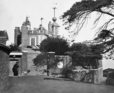 Entrance of the Royal Observatory, Greenwich by unknown - print