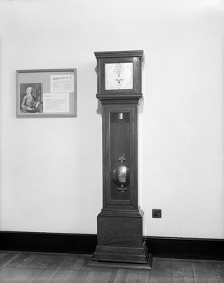 Astronomical regulator clock No. 680 by George Graham - print