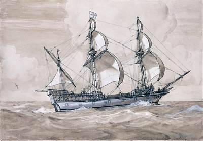 Golden Hind by Gregory Robinson - print