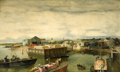 The British Power Boat Company by Richard Ernst Eurich - print