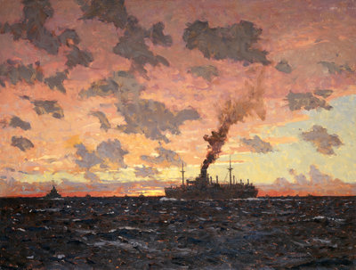 A lame duck by Norman Wilkinson - print