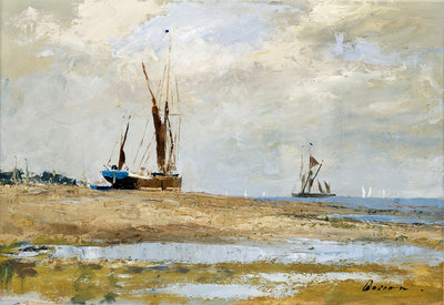 High and dry by Edward Wesson - print